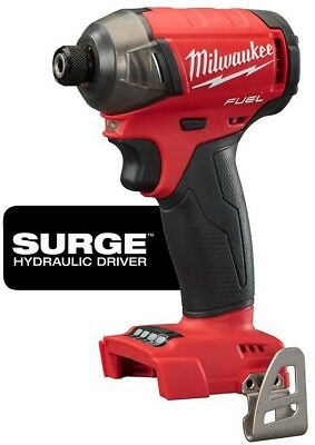 Milwaukee M18 18-Volt Lithium-Ion Brushless Cordless 1/4 In. Hex Impact Driver