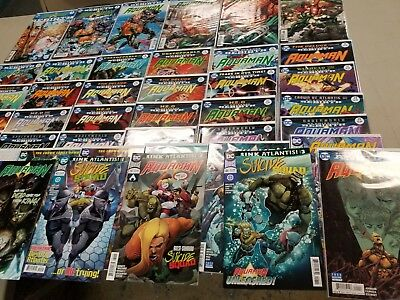 Aquaman Complete Rebirth Run To-Date:  Aquaman #1-39, Annual #1, Rebirth #1, etc