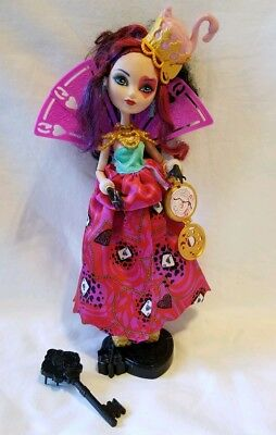"""Ever After High Way Too Wonderland Lizzie Hearts 11"""" Doll"""