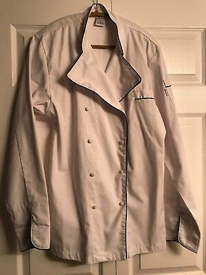EChef White Chefs Professional Cooking Jacket S New heavy duty