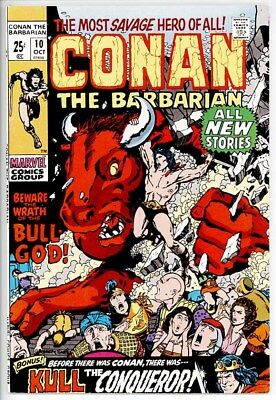 Conan The Barbarian #10 Vf+ 8.5 Barry Smith Art 52-Page Giant Kull