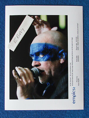"Original Press Photo - 8""x6"" - R.E.M. - Michael Stipe - 2005 - B"