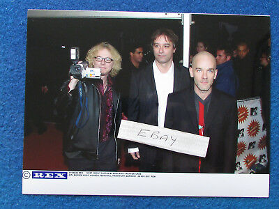 "Original Press Photo - 8""x6"" - R.E.M. - 2001 - A"