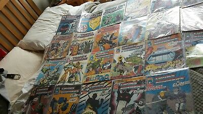 Transformers Comic Job Lot Marvel UK Gen 1 22 issues in total