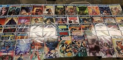 Wonder Woman #1-51, Rebirth #1, and Annuals #1-2 - Complete Rebirth To-Date - DC