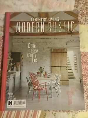Country Living Modern Rustic,rare,Collectable. Issue 6