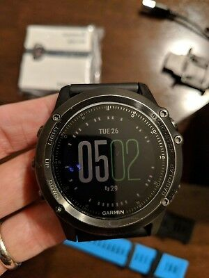 Garmin Fenix 3 HR Sapphire Excellent Condition!