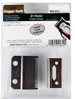 WAHL Stagger-Tooth Clipper Blade WA2161-400 for Magic Clip Cordless - AUS SELLER