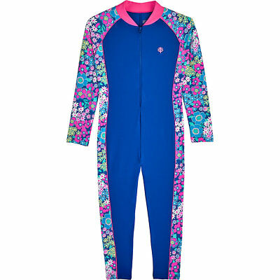 Coolibar UPF 50+ Kids' Neck-To-Ankle Surf Suit