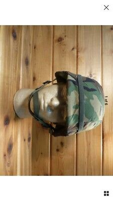 U.S. MILITARY PASGT COMBAT HELMET MADE WITH KEVLAR SIZE Medium