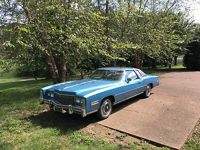 1976 Cadillac Eldorado Coupe Coupe with 23,435 miles, Biarritz seats - no reserve