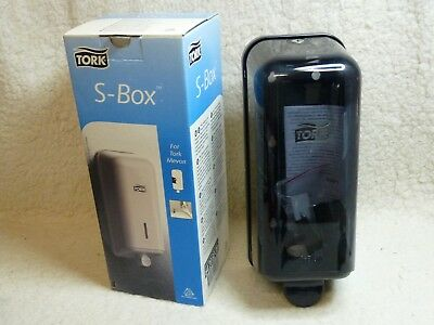 Tork S-Box, Soap Dispenser. Graphite. Unused, Boxed. With Key & Instructions.