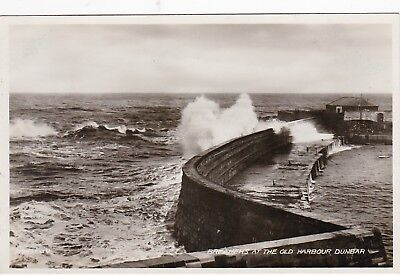 Breakers At The Old Harbour, DUNBAR, East Lothian RP