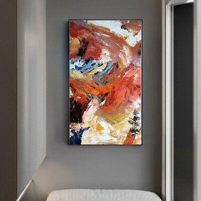 YA917# Large Modern Simple abstract 100% Hand-painted oil painting 24x48in