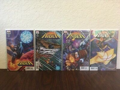 Cosmic Ghost Rider #1 #2 #3 - No Reserve Auction!!! 4 Book Lot Cates Marvel 2018