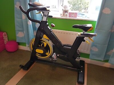 Used exercise bike spin