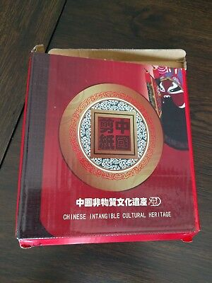 Chinese wall art symbol and frame, Intangible cultural heritage