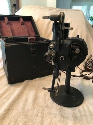 Bell & Howell Filmo 16mm Film Movie Projector model 57 with original Case