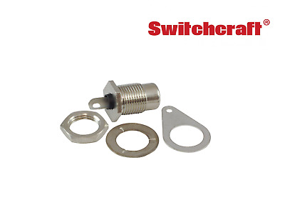 Switchcraft RCA Jack, (Choice of Panel Mount or Plug)