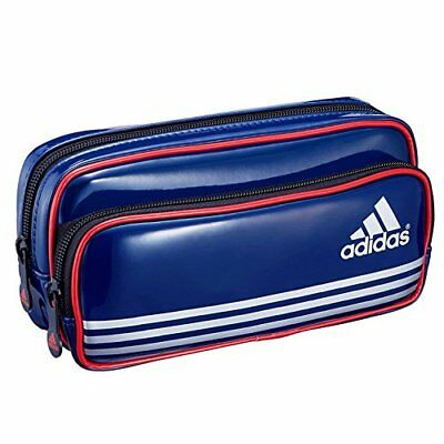 18ad22b9f820c ... new zealand adidas pencil case double pocket blue pt1700ai mitsubishi  from japan new n c4972 5ef52