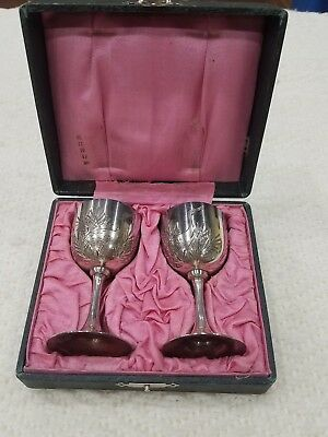 World War II Era Original boxed Wine - Cordial Set For 2