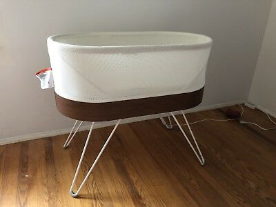 SNOO Smart Sleeper Bassinet by Happiest Baby with Extra Organic Accessories