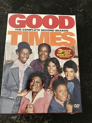 Good Times - The Complete Second Season (DVD, 2004, 3-Disc Set) New, Sealed