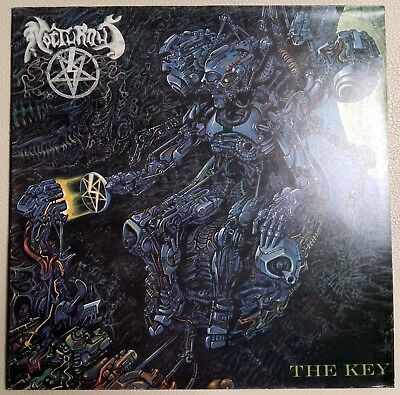 Nocturnus - The Key - 210059-1311 - 1991 Czech Pressing - Near Mint! (O)
