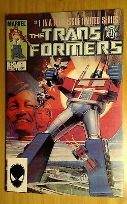 The Transformers #1 (Sep 1984, Marvel) 9.0+ AWESOME SHAPE FAST SHIP!