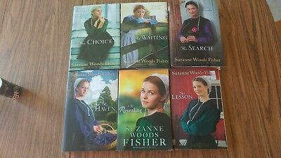 Lot Of 6 Suzanne Woods Fisher Amish Fiction