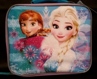 Disney Frozen Elsa Anna Soft Lunch Bag Box NEW