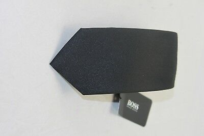 Hugo Boss black label men's black tie 7.5cm $95