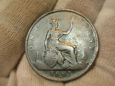 1881 H Great Britain Penny
