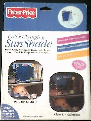 Fisher-Price Color Changing Sun Shade (2 Pack)