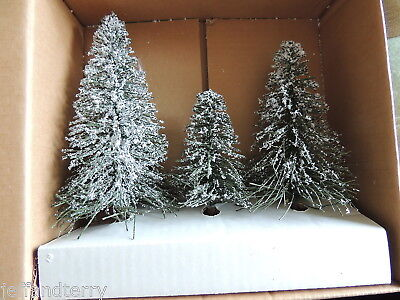 Department 56 - Village Frosted Norway Pines, set of 3 - #56.51756 - box too!