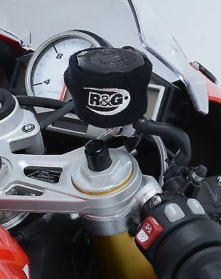 Universal Clutch / Brake Reservoir Protector Booty in Black from R&G Racing