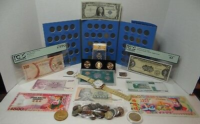 USA & Foreign Coin & Currency Lot