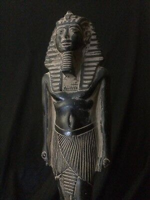 ANCIENT EGYPTIAN ART ANTIQUE King TUTANKHAMUN Egypt STATUE Stone 1332–1323 BC