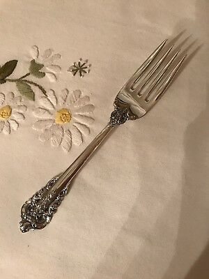 "Wallace Grande Baroque Sterling Salad Fork(s) 6-1/2"" Post 1940 No Monograms"