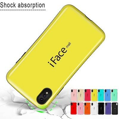 iFace mall For iPhone XS/Max/XR/X Heavy Duty Shockproof TPU Hard Case Cover Skin