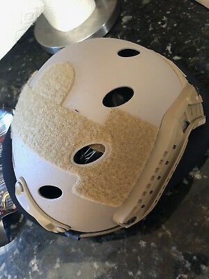 Ops Core FAST Carbon Helmet With VAS Shroud Tan FREE SHIPPING