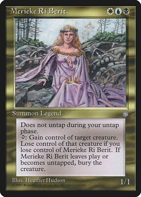 ICE MERIEKE RI BERIT 1x Rare Magic Ice Age MTG EX Excellent Condition