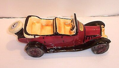 Collectable Liquor Decanter ( Empty Decanter 1913 Alfa Romeo Car ) Free Shipping