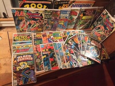 huge mixed comic book lot 45 comics! wide variety.