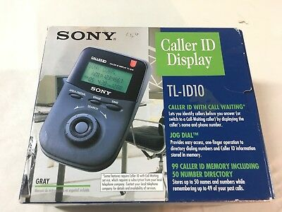 Sony TL-ID10 Caller ID RARE AND  BRAND NEW IN BOX
