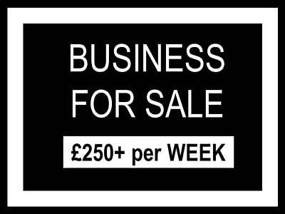 BUSINESS FOR SALE | £250+ a week | Introductory price - Will increase to £3.99