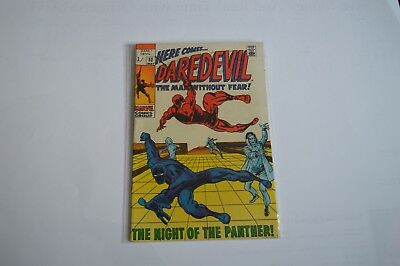 Daredevil #52 Stunning  Barry Smith Art Black Panther!