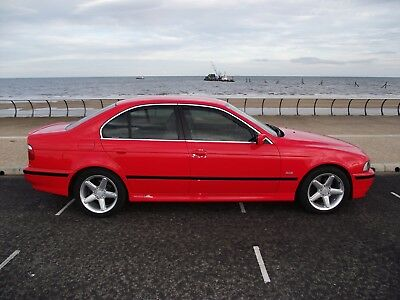Bmw 530I Se E39 Saloon, Refurbished And Refinished In Henna Red, The  Only One!