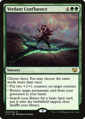 The Gathering MTG Commander 2015 Scourge Of Nel Toth M//NM Magic