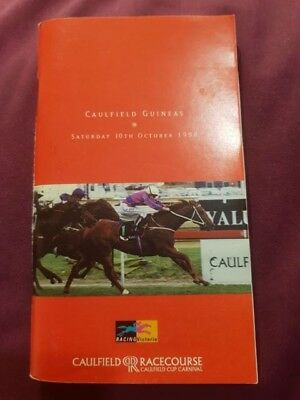 1998 Caulfield Guineas Race Book Might And Power